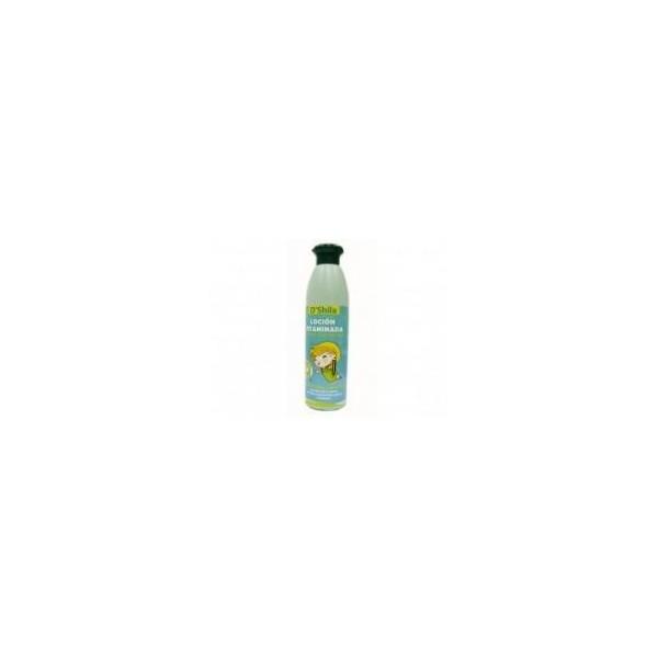 Loción vitaminada orgánica -antiparásitos- ESPECIAL EDAD ESCOLAR-250 ml D´shila