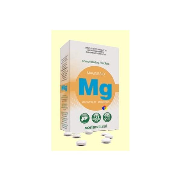 Magnesio retard 30 comprimidos Soria Natural