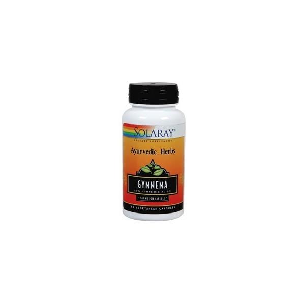 Gymnema 385 mg 60 cápsulas vegetales Solaray