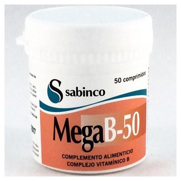 Mega B-50 50 comprimidos Sabinco