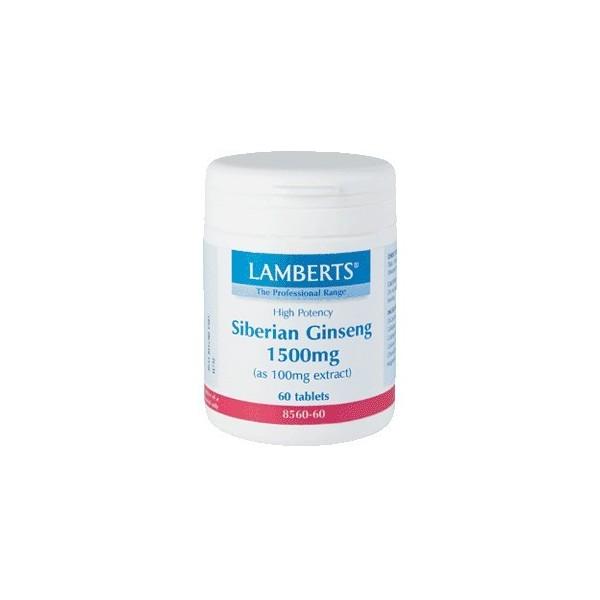Ginseng siberiano 60 tabletas Lamberts