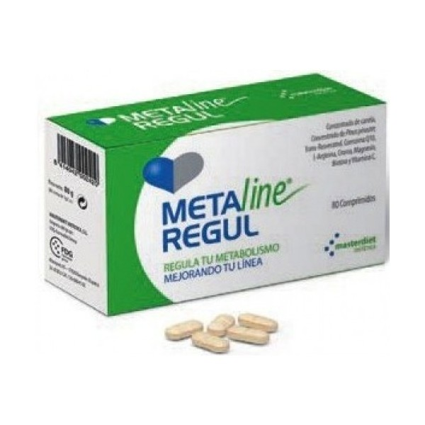 Meta line regul 80 comprimidos Masterdiet