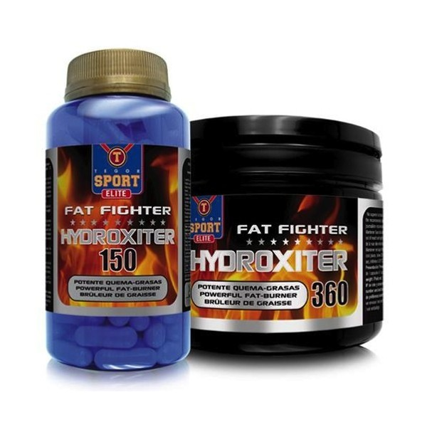 Hydroxiter fat fighter 150 cápsulas Tegor