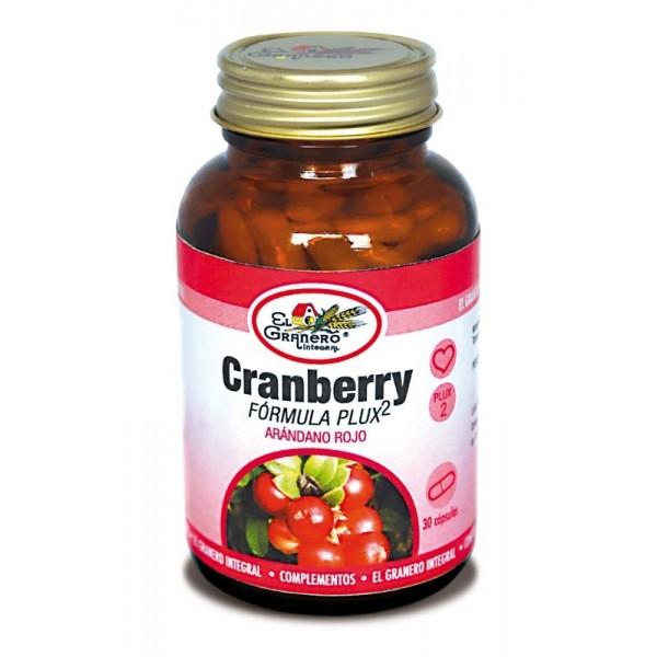 Arándano rojo -Cranberry- 30 cápsulas vegetales El Granero