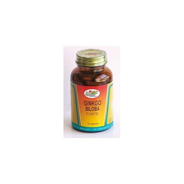 Ginkgo biloba 90 cápsulas 510 mg El Granero