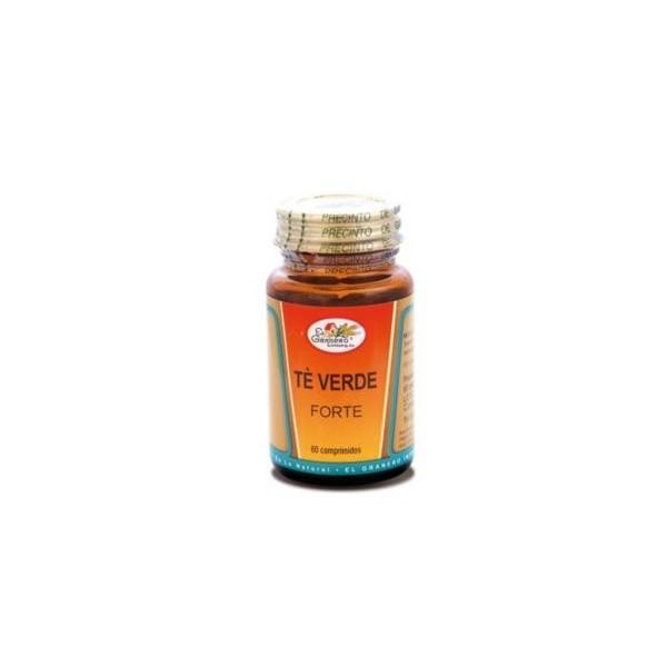 Té verde forte 60 comprimidos 800 mg El Granero Integral