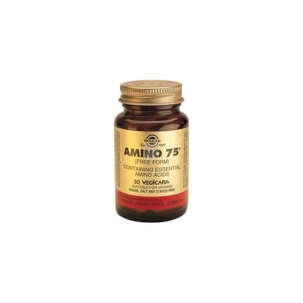 Amino 75 - 30 cápsulas vegetales Solgar
