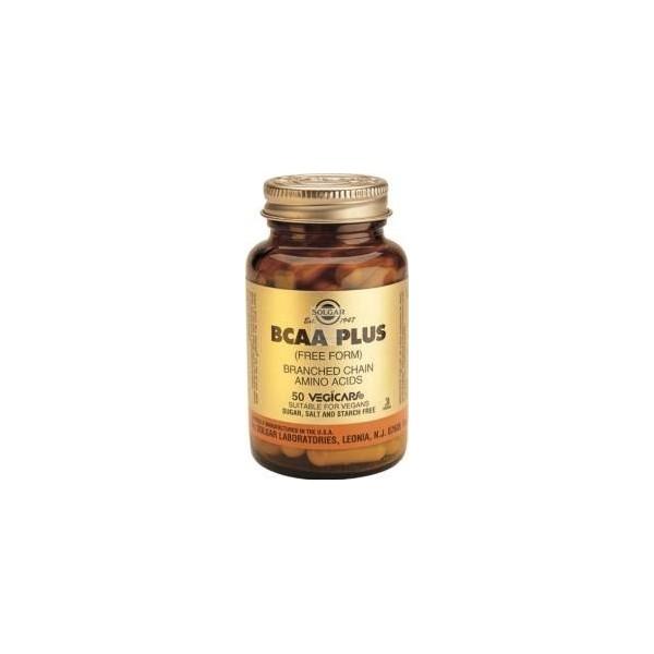 BCAA plus 50 cápsulas vegetales Solgar