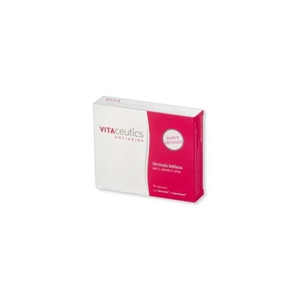 Vitaceutics antiaging fórmula Belleza Piel-Cabello-Uñas 90 cápsulas Diafarm