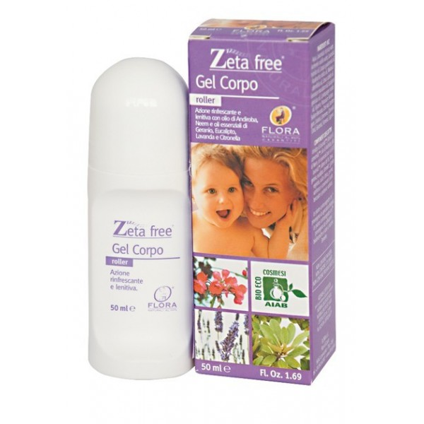 Gel Roll-on antimosquitos Bio 50 ml Zeta Free