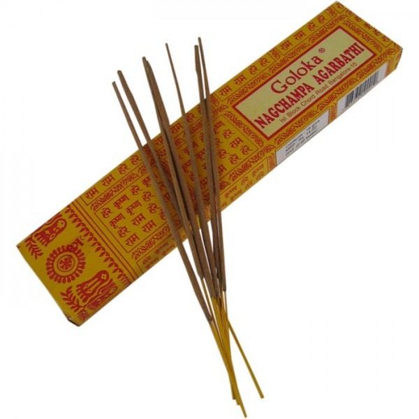 Incienso Nag Champa Goloka 8 sticks Satya Say Baba India