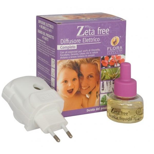 Difusor de aromas eléctrico -repelente de mosquitos Zeta Free -AGOTADO TEMPORALMENTE-