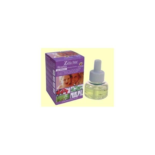 Recarga difusor de aromas eléctrico 25 ml -Repelente de mosquitos Zeta Free