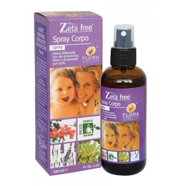 Aceite corporal anti mosquitos Bio Spray 100 ml Zeta Free
