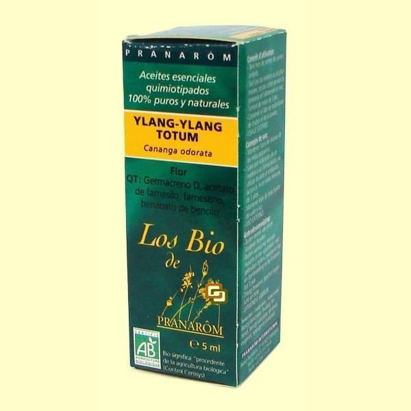 Ylang Ylang totum flor aceite esencial 5 ml bio Pranarom