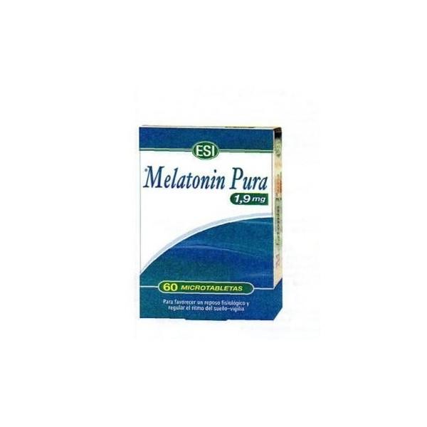 Melatonin pura 1 mg 120 microtabletas ESI