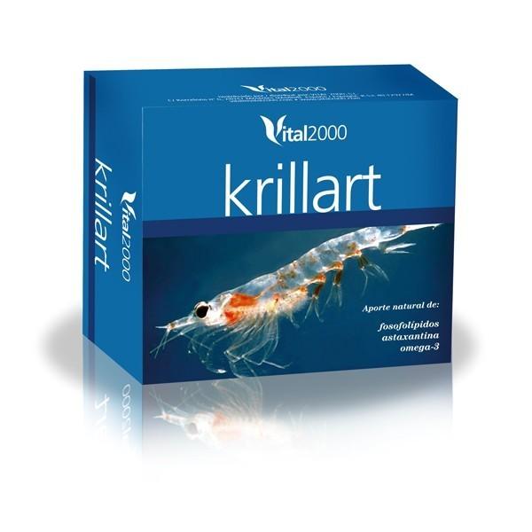 Krillart 60 perlas 725 mg Vital 2000