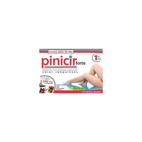 Pinicir  forte 30 cápsulas -1 al día- Pinisan
