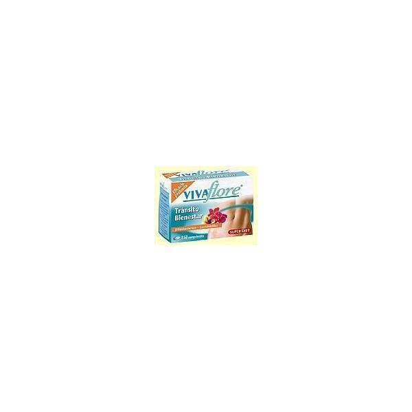 Vivaflore transito -vientre plano- 150 comprimidos Super Diet