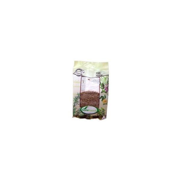 Anis verde como planta medicinal en bolsa 60g Soria Natural