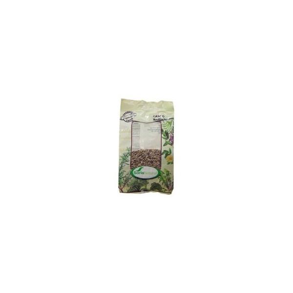 Cardo mariano semillas como planta medicinal en bolsa Soria Natural