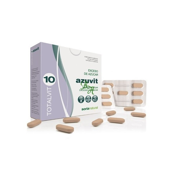 Totalvit 10 Azuvit 28 comprimidos Soria Natural