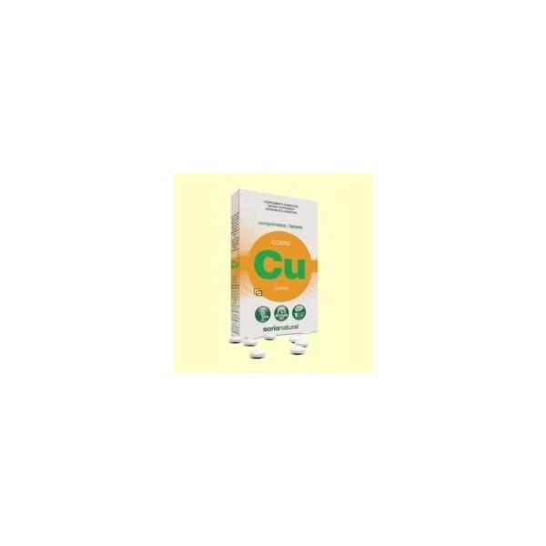 Cobre retard -1 al día- 24 comprimidos Soria Natural