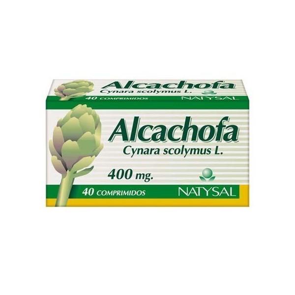 Alcachofa 40 comprimidos 400 mg Natysal -DESCATALOGADO-