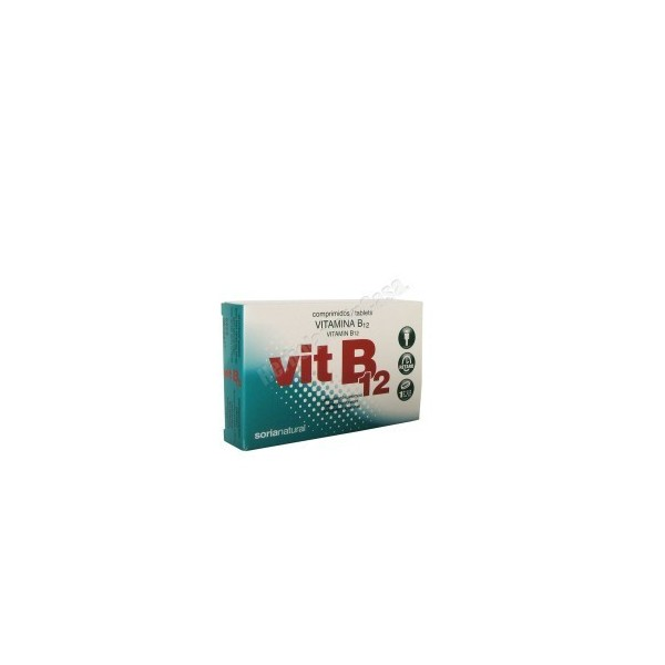 Vitamina B12 -cianocobalamina- retard 48 comprimidos Soria Natural
