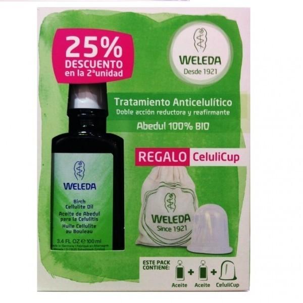 Pack  Aceite anticelulítico abedul 2X100 ml Weleda