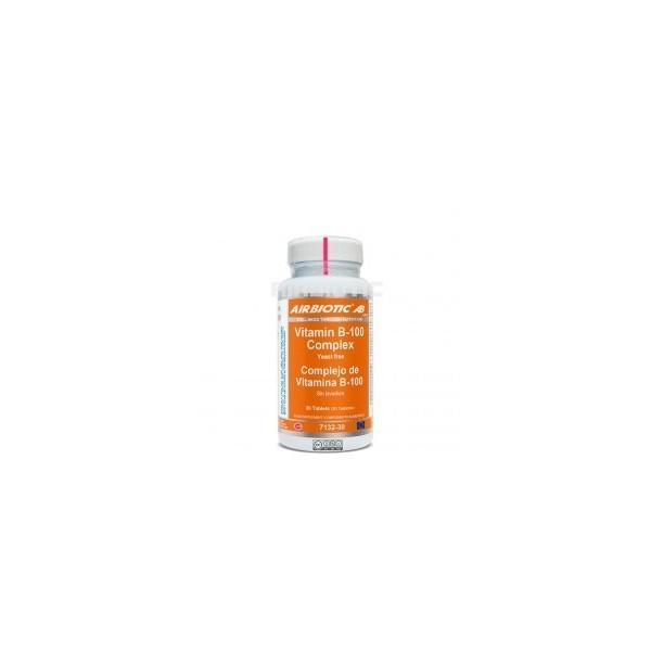 Vitamina B-100 complex 30 tabletas Airbiotic