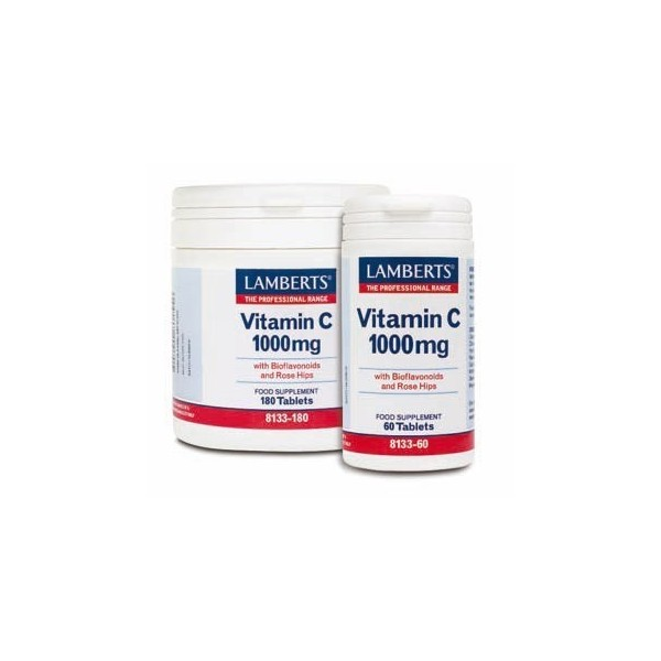 Vitamina C 1000 mg con bioflavonoides 60 comprimidos Lamberts