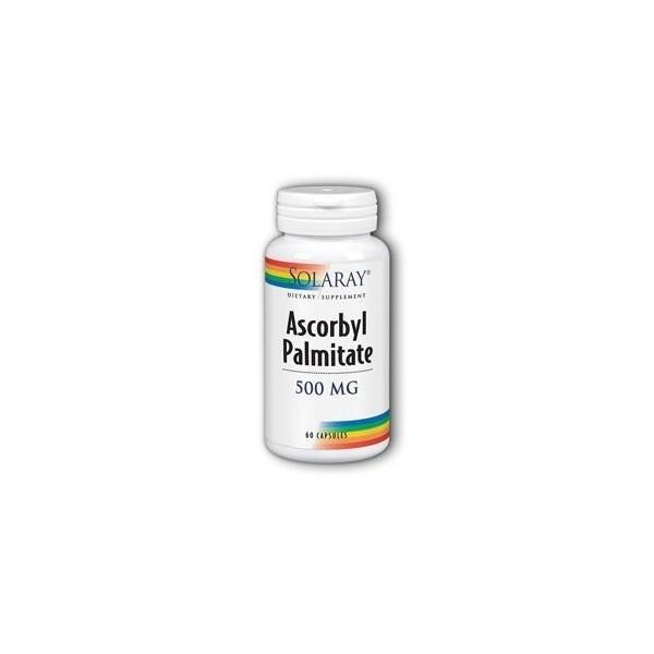 Ascorbyl palmitate 500 mg 60 cápsulas Solaray