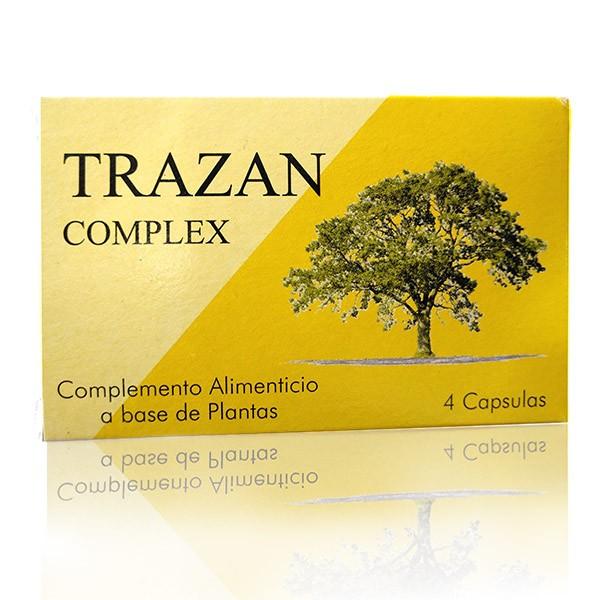 TRAZAN Complex 4 unds (antes TR-500) BeNatural