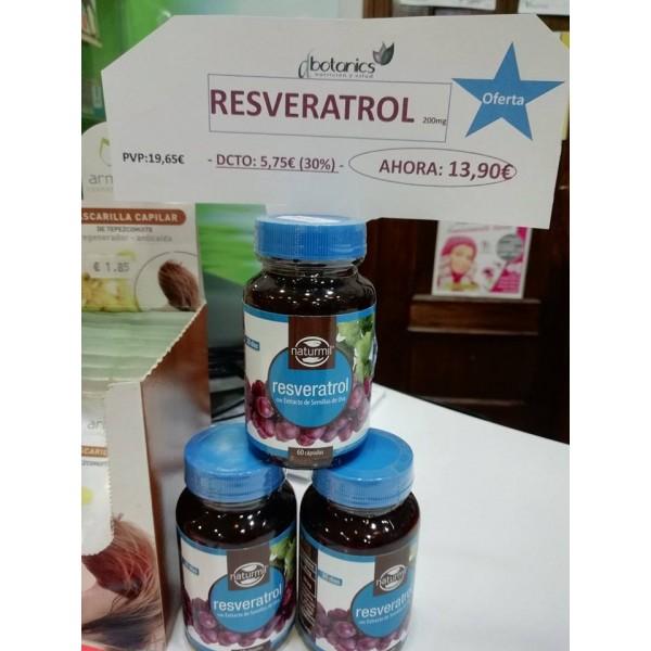 Resveratrol 40mg 60 caps  Natrurmil