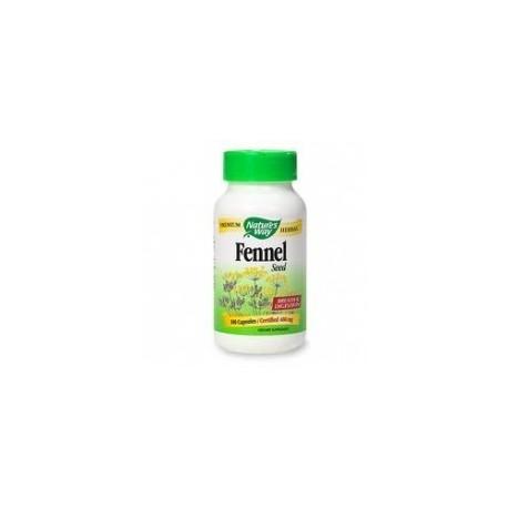 Hinojo semillas 480 mg 100 cápsulas Nature´s Way
