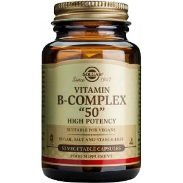 Vitamina B-Complex 50  50 cápsulas Solgar