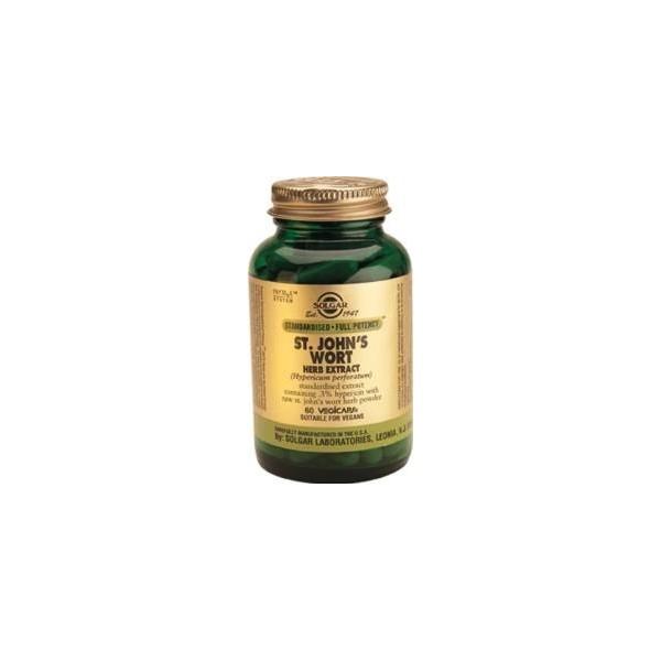 Hipérico extracto 175 mg 60 cápsulas vegetales Solgar