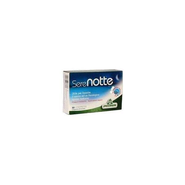 Serenotte 60 comprimidos masticables -Melatonina 1.9 mg- Specchiasol
