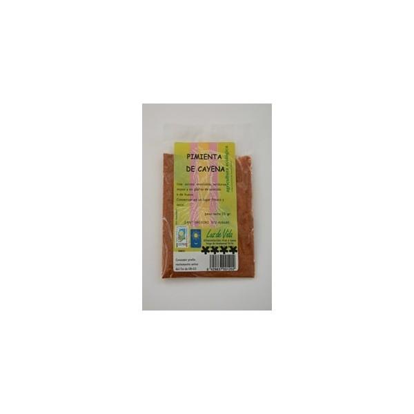 Pimienta de cayena Bio 15 g Luz de Vida