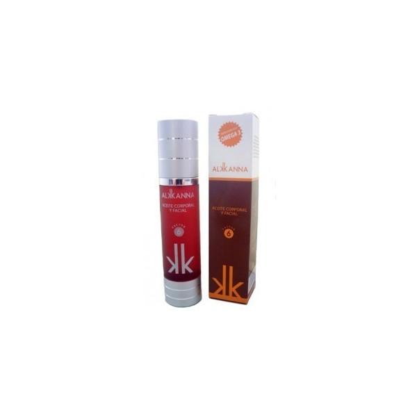 Aceite de Alkana Reforzado con Omega 3 FPS 6 50 ml Anroch